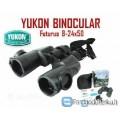 """Zoominius žiūronus :Yukon 8-24x50"""",garantija"""